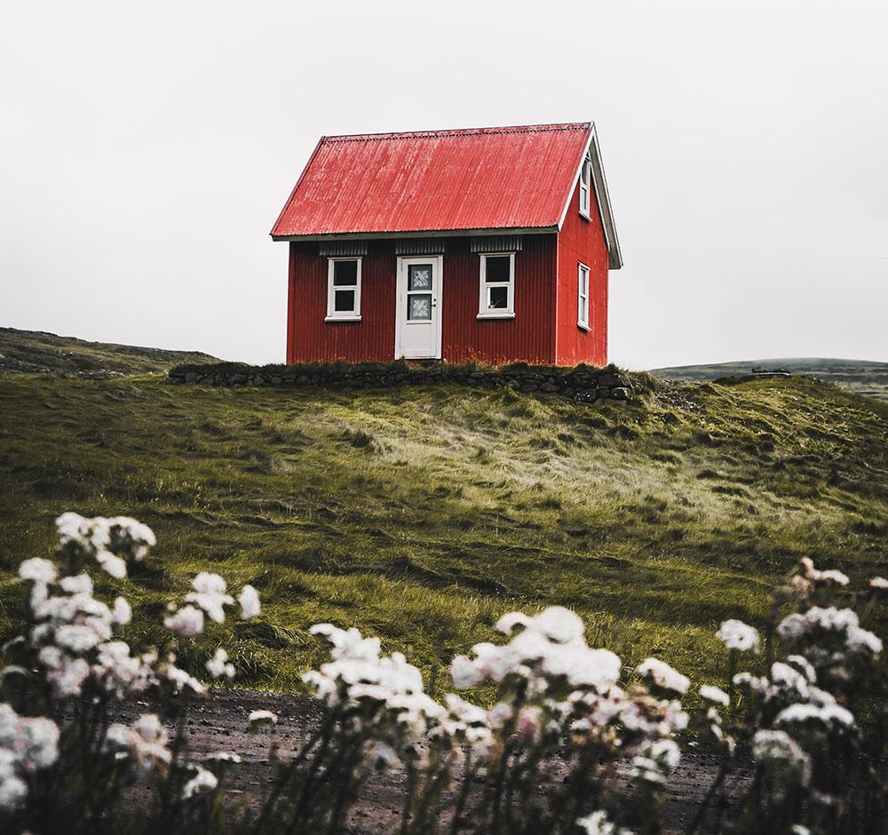 Hvordan velge kledning til hytte